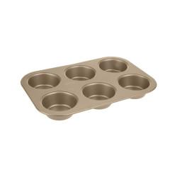 Forma na muffiny 6ks - bronzová