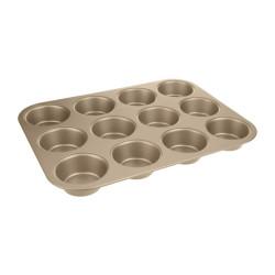 Forma na muffiny 12 ks - bronzová