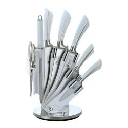 Sada nerezových nožů ve stojanu 8 ks