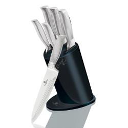 Sada nerezových nožů v bloku 6 ks BH-2277