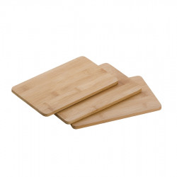 Sada 3ks bambusových prkének 20 x 14 cm