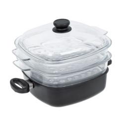 Vaření v páře 26 x 26 cm - indukce